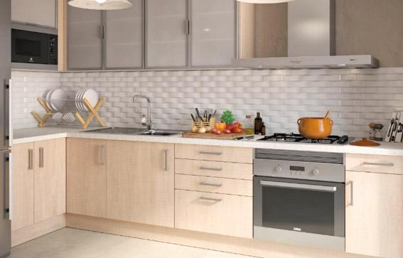 La cocina el corazon de los hogares espa oles durante 25 - Leroy merlin azulejos cocina ...