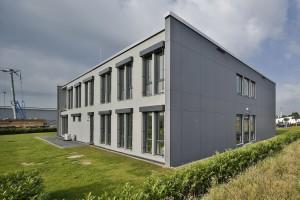 Nuevo edificio de oficinas en Jülich, sobre una superficie útil de 684 metros cuadrados.