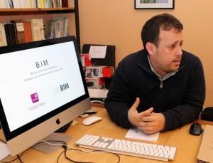 José Antonio Alba, arquitecto que dirige la empresa labBIM.
