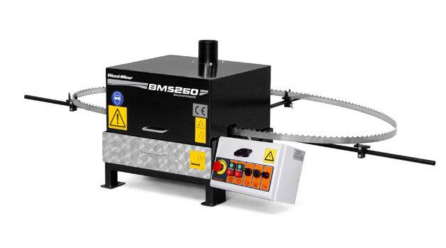 Afiladora BMS250 de sierras.