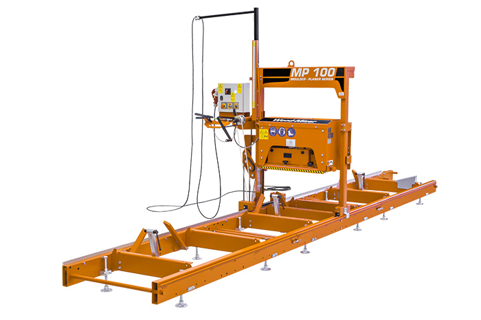 Cepillo perfilador Wood-Mizer MP100.