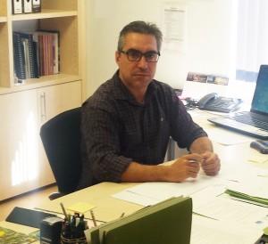 Juan Miguel Villarroel, gerente de FORESNA-ZURGAIA, Asociación Forestal de Navarra.
