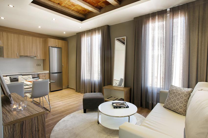 Apartamentos Mila, en Barcelona.