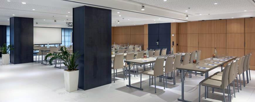 Sala de eventos en el Hotel Calderón Collection, en Barcelona.