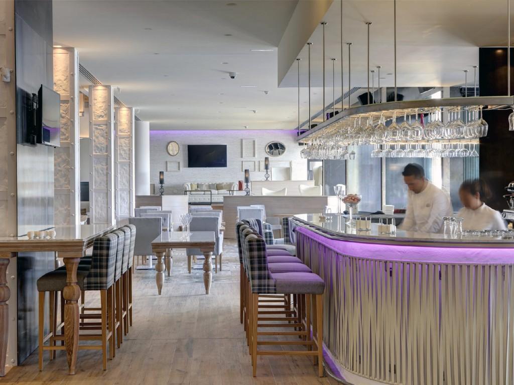 Lounge Bar en Marbella Amare.