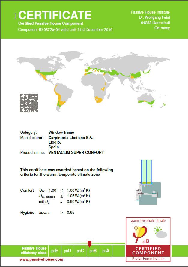 VENTACLIM_SuperConfort_Certificado