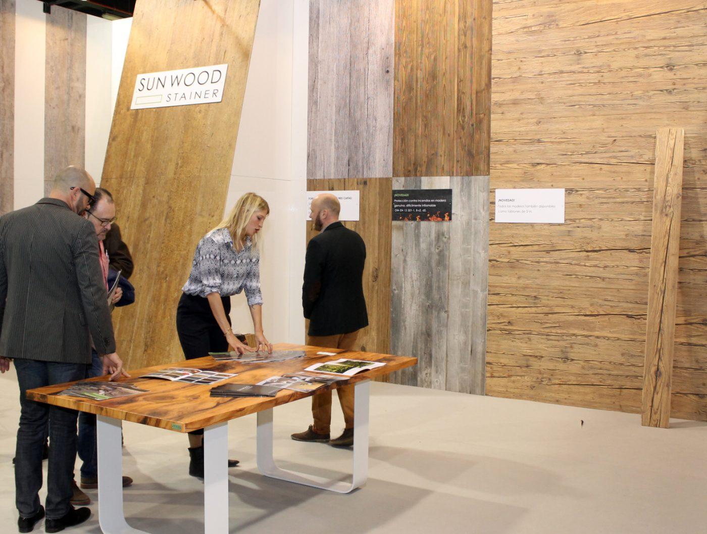 Sun Wood Cada Placa Es Nica Madera Sostenible Es Un Peri Dico  # Muebles De Madera Sostenible