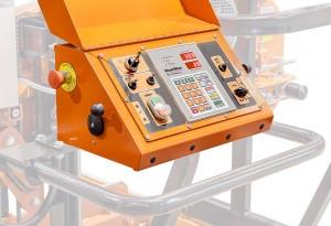 Los controles del aserradero y el setworks opcional se encuentran en el panel de control del operario.